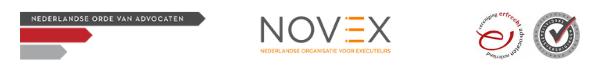 Vertrouwd: Orde van Advocaten, NOVEX en VEAN